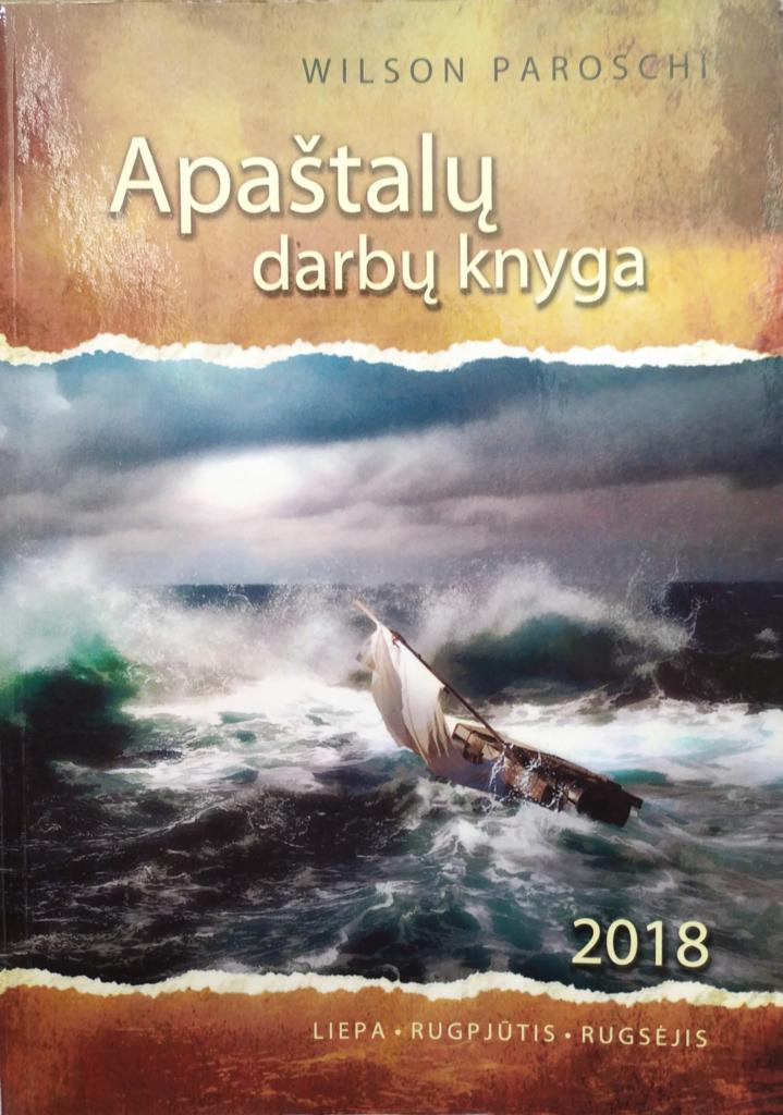 Apaštalų darbų knyga 2018 III