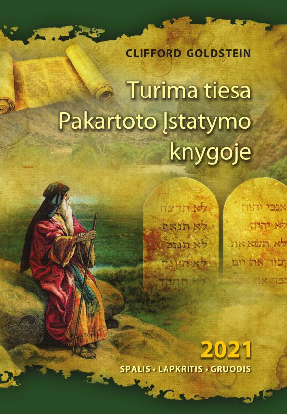 Turima tiesa Pakartoto įstatymo knygoje 2021/IV